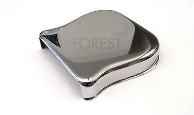 Fender Telecaster style bridge metal cover chrome ashtray vintage