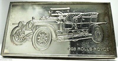Rolls-ROYCE (Lingotto Argento,925/1000) 2 Once-Proof