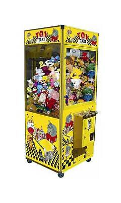 "Coast to Coast 31"" Toy Taxi Crane Arcade Machine Redemption Game No DBA"