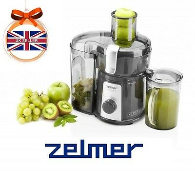 ! ZELMER JE1200 850W JUICE EXTRACTOR Electric Centrifugal JUICER Kitchen HEALTH