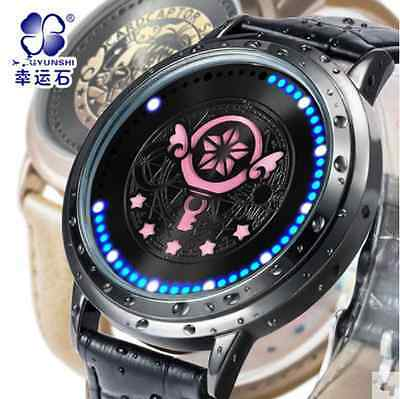 Card Captor Sakura Watch LED Touch-Screen Waterproof New Year Cos Gift