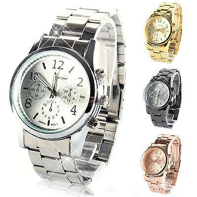 Nice Slim Stainless Steel Band Analog Quartz Dial Casual Women's Wrist Watch E93