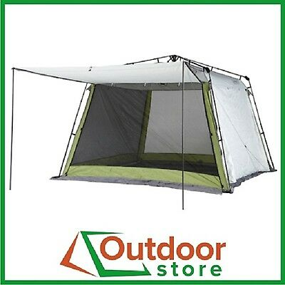 Coleman Instant-Up 3x3 Screen House Shelter Gazebo with Awnings