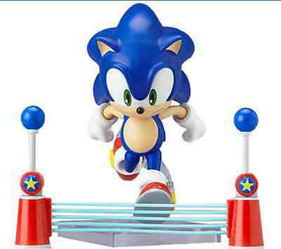 """The HEDGEHOG Super Sonic 9cm / 3.5"""" PVC Action Figure New In Box #214"""