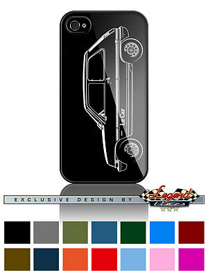 "Renault 5 LeCar Le Car ""Profile"" Cell Phone Case Apple iPhone and Samsung Galaxy"