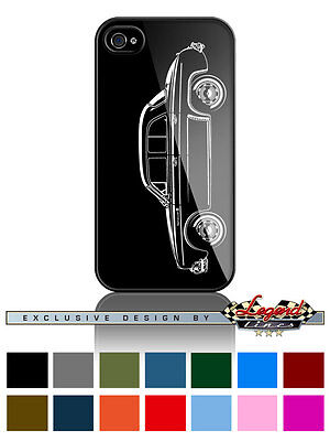 Renault Dauphine Ondine Kilowatt Profile Cell Phone Case iPhone & Samsung Galaxy