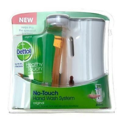 Dettol No-Touch Hand Wash System With Ant-Bacterial Soap Liquid 250Ml Bathroom