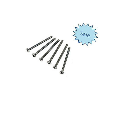 Tile Long Screw for Outlet GPO BULK 6 X 54mm Screws Power point Switch BRAND NEW
