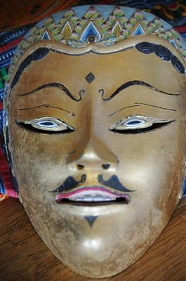 Old Carved Wooden Balinese Dance Mask… nice patina & great collector's piece...