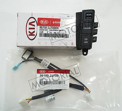 KIA BORREGO / MOHAVE 2009-2013 OEM Auto Cruise Control Switch + Wire 2EA Set