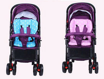 Soft Thick Colorful  Baby Infant Carriage Stroller Seat Pushchair With White Dot