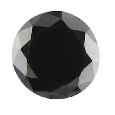 Cubic Zirconia Jet Black Round AAA Rated CZ Loose Stones (1mm - 17mm)