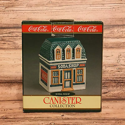 Coca Cola Soda Shop Canister Collection 1997