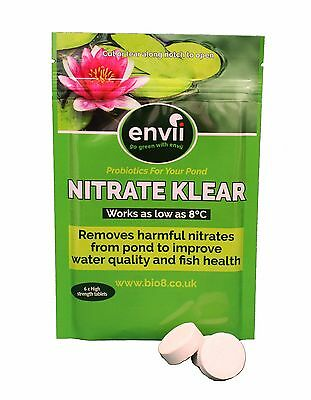 Envii Nitrate Klear – Pond Nitrate Remover Treatment Reducer – 6 Tablets