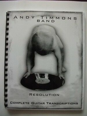 Andy Timmons Band Resolution Guitar Score Tab
