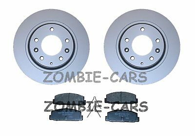 MAZDA 6 1.8 2.0 2.3 02->08 REAR BRAKE DISCS AND PADS FULL SET 280mm QUALITY NEW