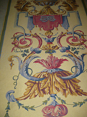 Large Vintage VAUX-LE-VICOMTE French Wall Tapestry