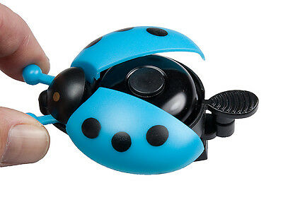 Sport Direct™ Bicycle Bike Childs Boys Flying Ladybird Bell Blue