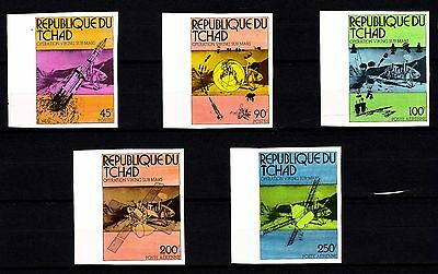 "Chad - 1976 ""Viking Mars Project"" Imperforated (MNH) - Lot 2"