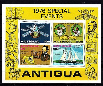 "Antigua - 1976 ""Special Events"" S/S (MNH)"