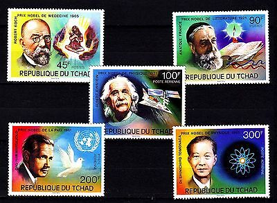 "Chad - 1976 ""Nobel Prize Winners"" Imperforated (MNH)"