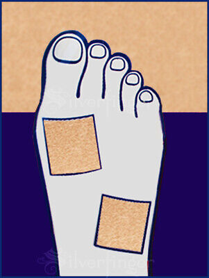 MOLESKIN • Blister Corn Callus Super Soft Padding Protects Feet x3 Sheets Pack