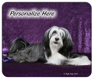 Tibetan  Terrier  ( 22 )   Personalized  Mouse Pad