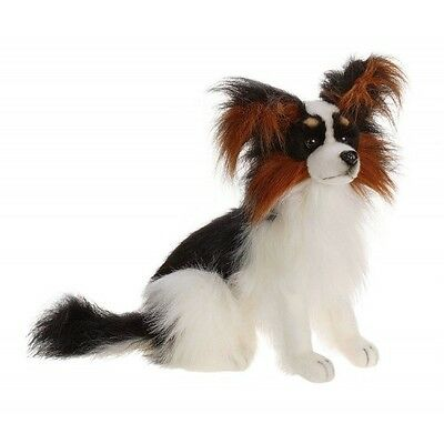 "Pappillon Puppyblack / White 16"" By Hansa Model: 3994"