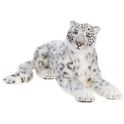"Snow Leopard, Mama Life Size 50"" By Hansa Model: 4283"