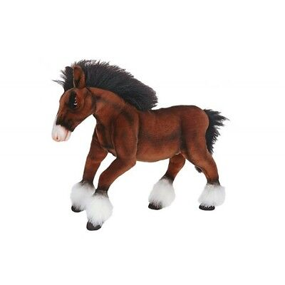 """Clydesdale Horse 20"""" By Hansa"""