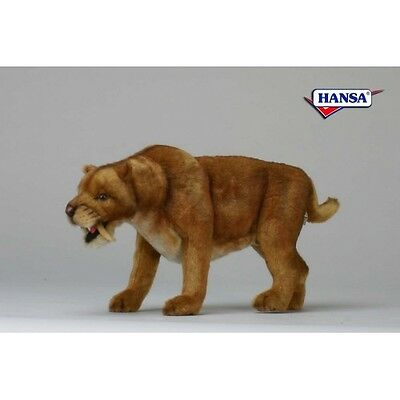 """Saber Tooth Tiger 20.0"""" L New By Hansa"""