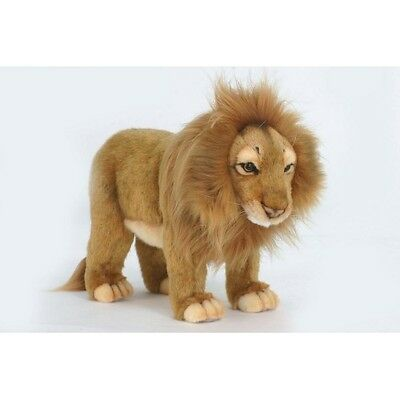 """Lion, Male Standing  14.0"""" L New By Hansa Model: 5771"""