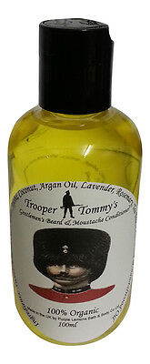 Trooper Tommy's Organic Beard Conditioner 100ml