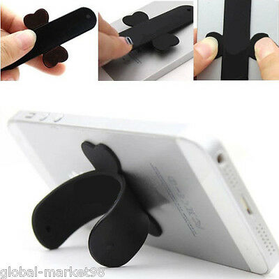Touch U Universal Cell Phone STAND Smartphone Portable in LEATHER