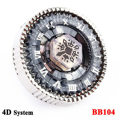 Metal FUSION FIGHT MASTER 4D System BB104 Basalt Horogium Top With Launcher