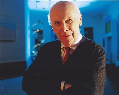 James D Watson Signed Autographed 8x10 Photo DNA Inventor Nobel Prize 1962 Rare