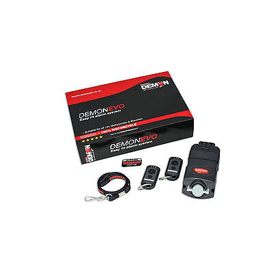 Datatool Demon Evo Motorcycle Security Alarm System Easy Self Fit Unit