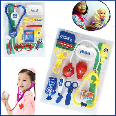 Childrens A-Z Kids Doctor Play Set Fancy Dress Play Nurse Medical Play Gift Set