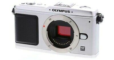 Olympus PEN mini E-PM1 mirrorless digital camera body *silver *superb