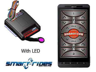 Smart Android Air Suspension Controller works any Air Suspension,wire to valves