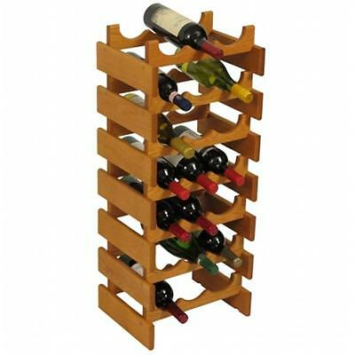 Wooden Mallet WR37MO 21 Bottle Dakota Wine Rack