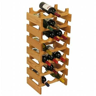 Wooden Mallet WR37LO 21 Bottle Dakota Wine Rack