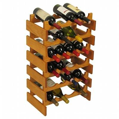 Wooden Mallet WR46MO 24 Bottle Dakota Wine Rack
