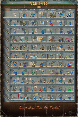 GQ877 NEW Hot fallout 4 Game Art Print Poster 24x36 inches