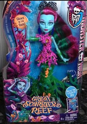 Monster High Posea Reef Doll - Great Scarrier Reef - NEW