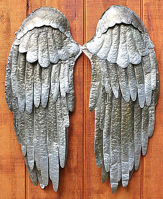 Handforged Strapable  Tin Life-Size Angel Wings  Film w/ Bill Murray Megan Fox