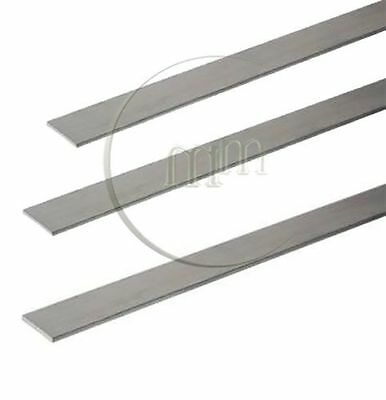 Aluminium Flat Bar - Milling/Welding/Metalworking Various Lengths Available
