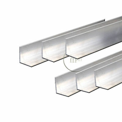Aluminium Angle - Milling/Welding/Metalworking Various Lengths Available