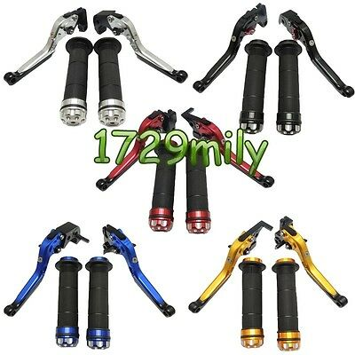 Extendable Folding Brake Clutch Levers Hand Grips for CBR 600/929RR 1000 5 COLOR