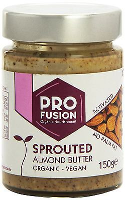 Profusion Activated Sprouted Butter Organic Almond 150g